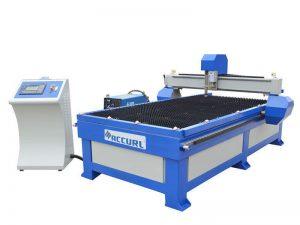 prix de machine de coupeur de plasma en métal d'acier inoxydable / petite découpeuse de plasma de commande numérique par ordinateur