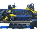 découpeuse de tuyau d'acier inoxydable de plamsa de Chine de commande numérique par ordinateur