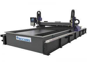 mini machine de découpage en métal de laser de commande numérique par ordinateur / machine de découpage de plasma de commande numérique par ordinateur d'acier doux