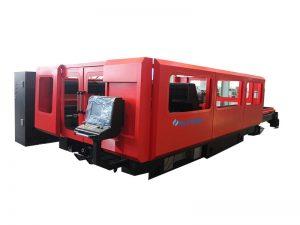 machine de découpage de tube de laser de fibre de commande numérique par ordinateur 500w