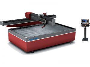 Coupeur en acier de l'eau de commande numérique par ordinateur de découpeuse de jet d'eau de la puissance 38kw électrique 3.7l / minute