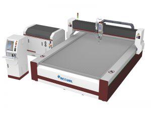 Machine de découpe jet d'eau pure 420 axes 3 axes pour mousse, cuir, film plastique