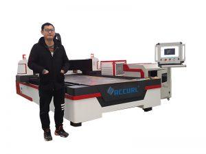 meilleure qualité vente chaude cnc pas yag 500w machine de découpe laser à fibre métallique